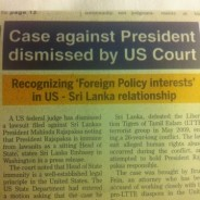 Update from Sri Lanka